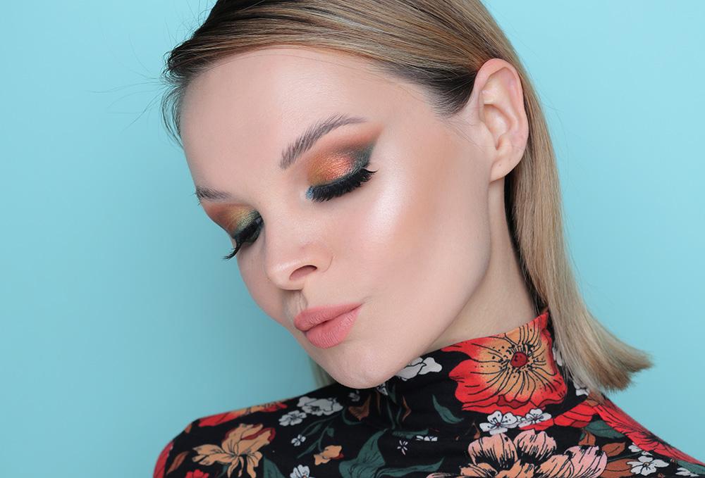 Макияж с палеткой Natasha Denona - Metropolis Eyeshadow Palette