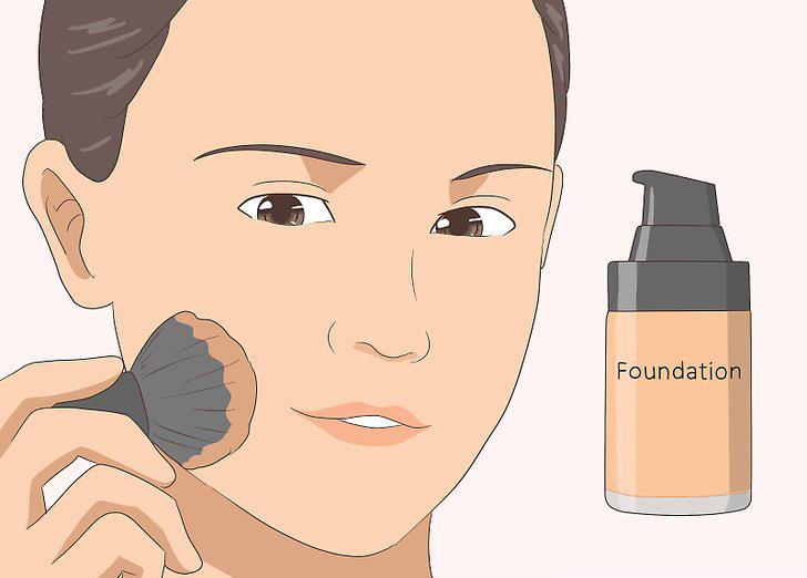Как нанести тональный крем чтобы он был незаметен