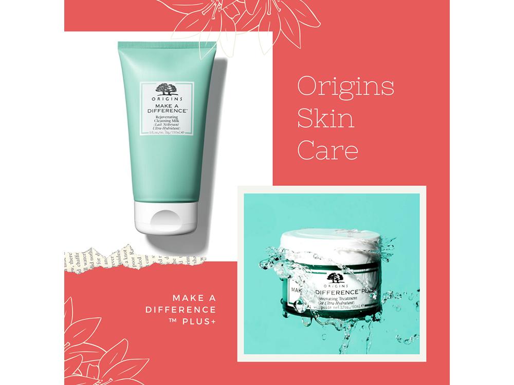 Origins Make A Difference Plus+ : отзывы, фото, крем и молочко