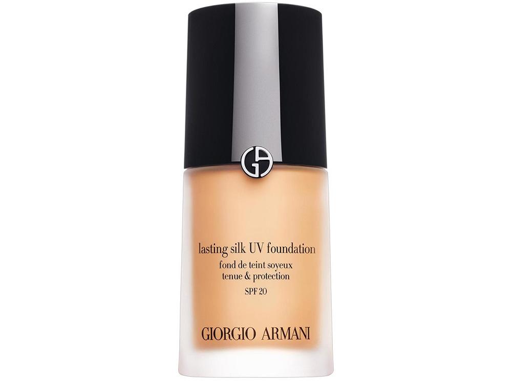 Лучший тональный крем для жирной кожи - Giorgio Armani Lasting Silk UV Foundation