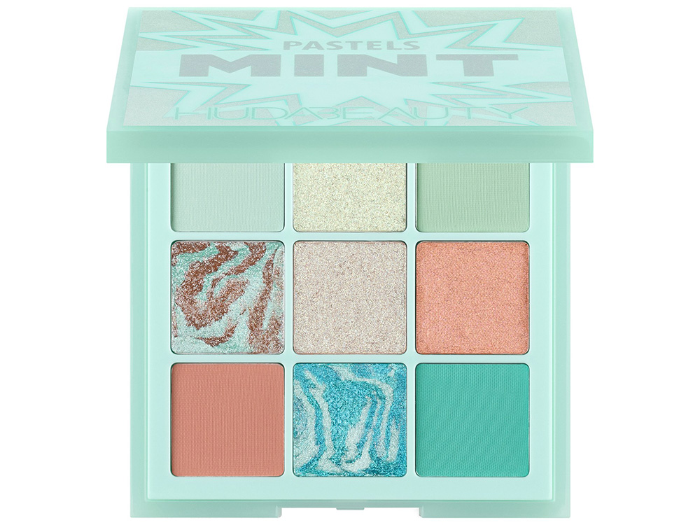Палетка теней Huda Beauty The Mint Palette