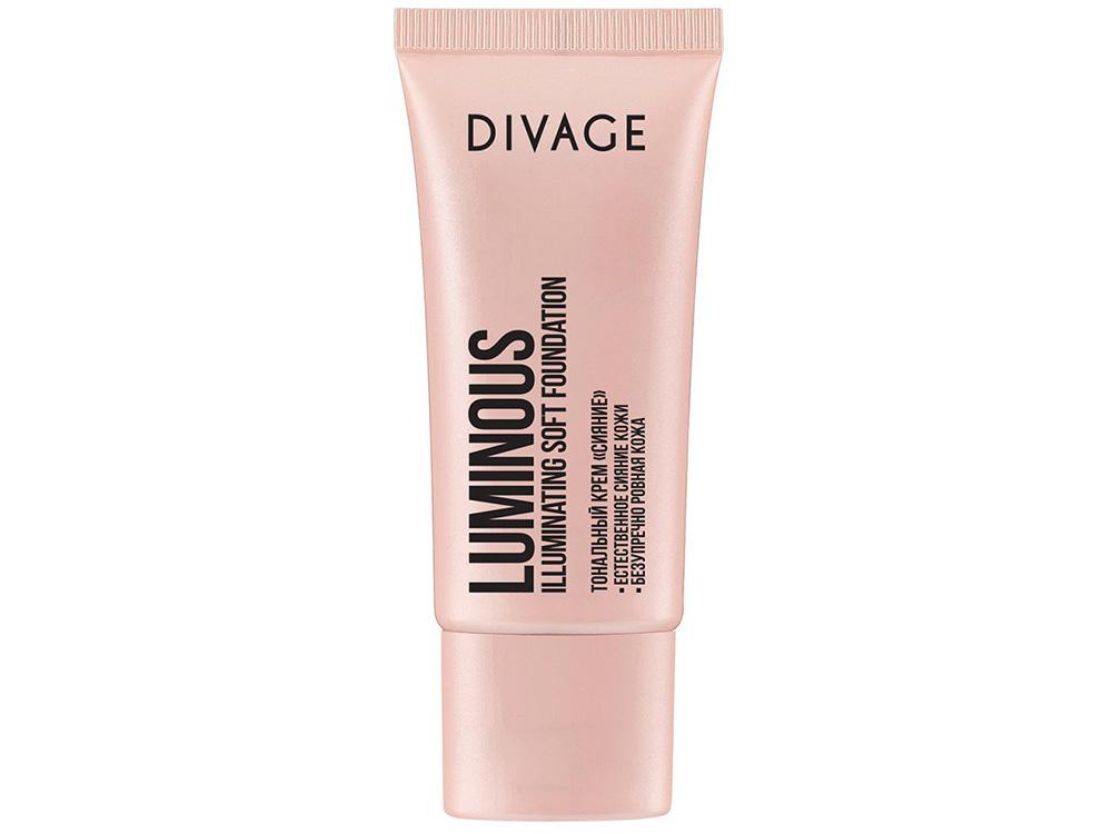 Лучший тональный крем для сухой кожи - Divage Luminous