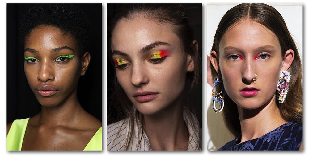 Какой цвет в моде 2020 трендовый макияж глаз весна-лето - неоновый