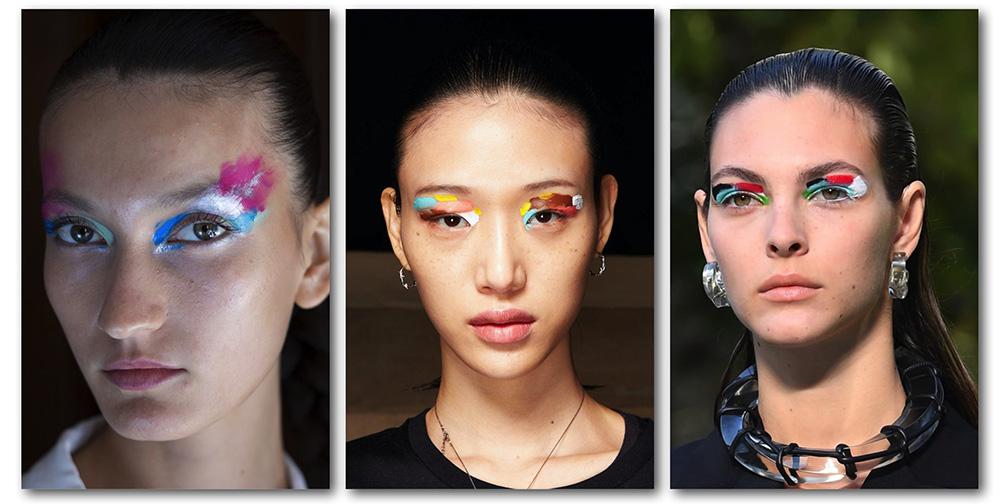Трендовый макияж глаз весна-лето - техника мазками