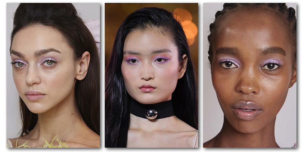 Какой цвет в моде 2020: трендовый макияж глаз весна-лето - лиловый