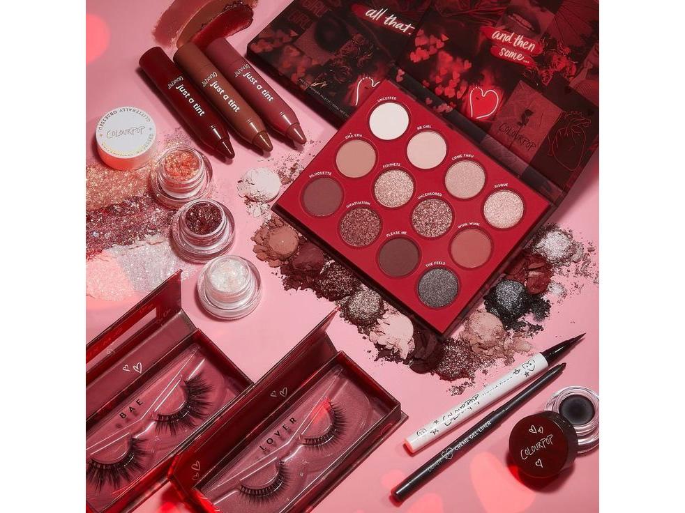 Праздничные коллекции макияжа ко Дню святого Валентина- ColourPop Valentine's Day Collection
