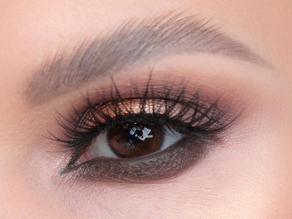 Как сделать макияж коричневого цвета - особенности техники