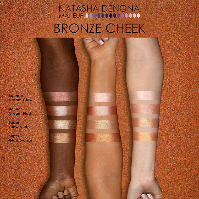 Natasha Denona Bronze Cheek Face Glow Palette Summer 2020