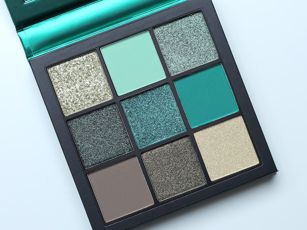 Huda Beauty Emerald Obsessions Eyeshadow Palettes