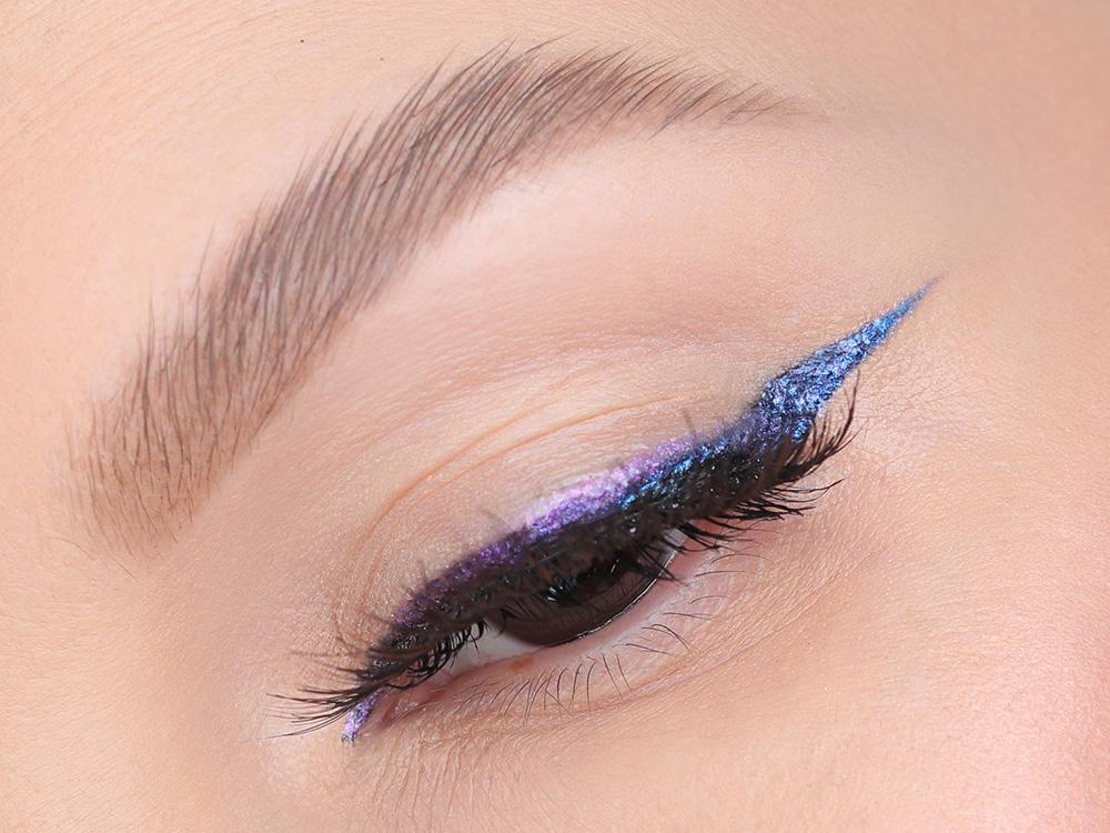 Как сделать дуохромный макияж глаз и губ