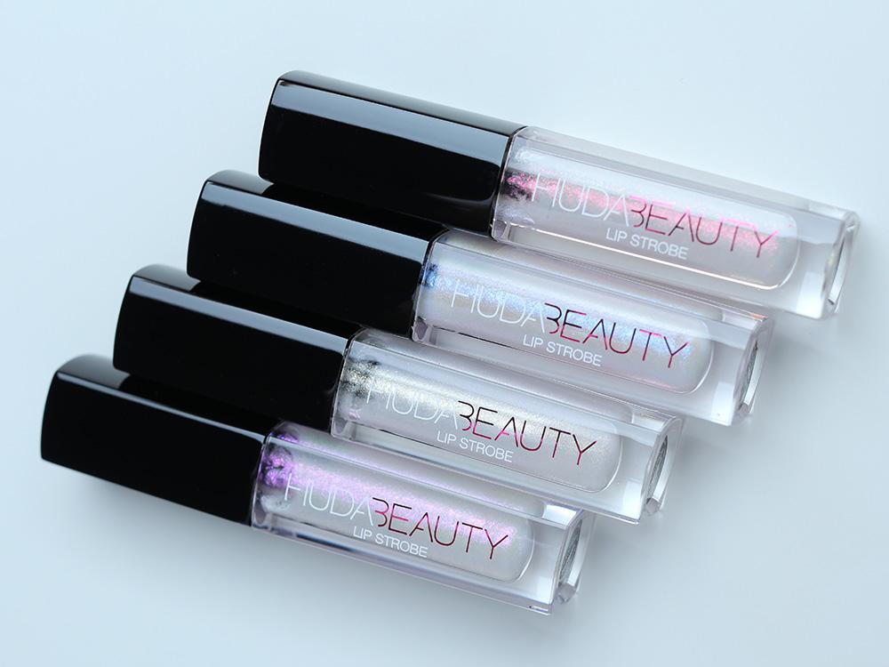Huda Beauty Winter Solstice Strobing Metallic Lip Glosses