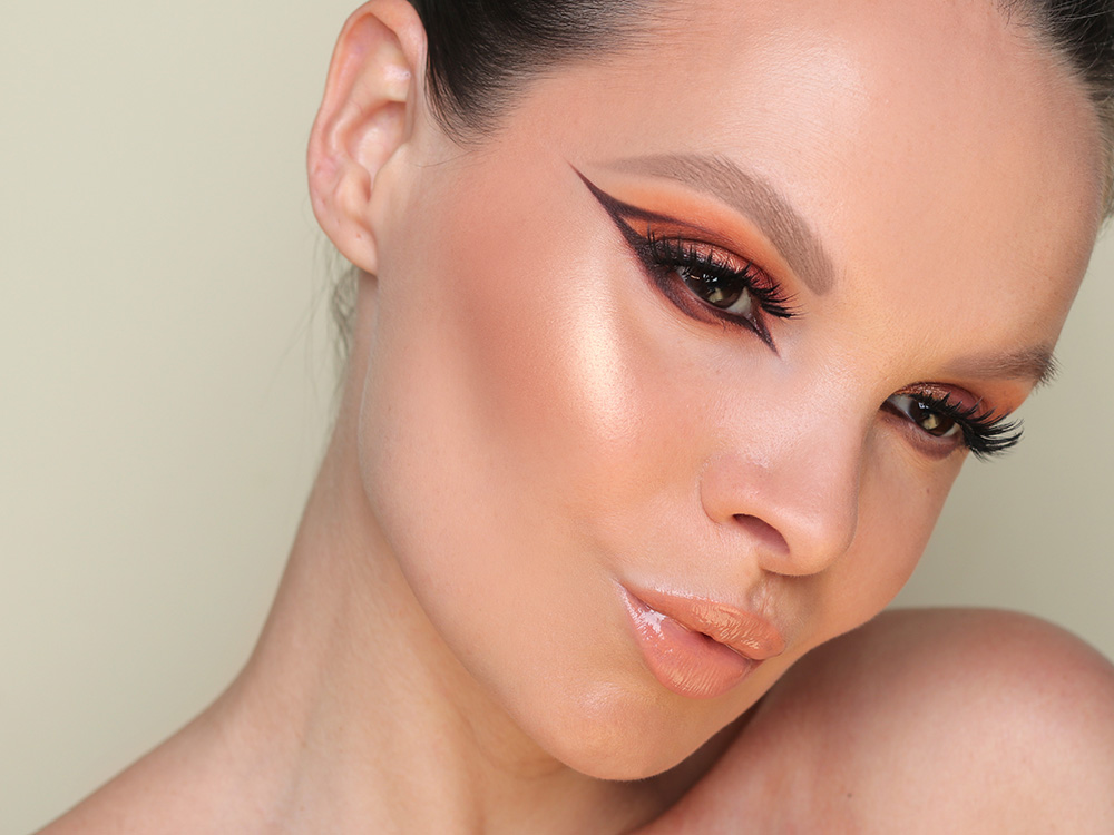 Летний бронзовый макияж