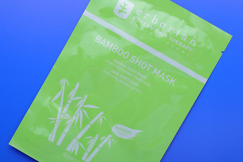 Увлажняющая тканевая маска Erborian Bamboo Shot Mask