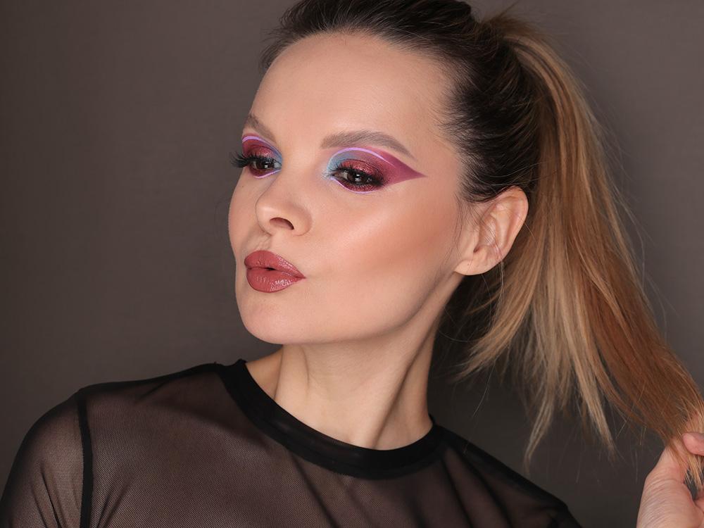 Креативный макияж на Новый год