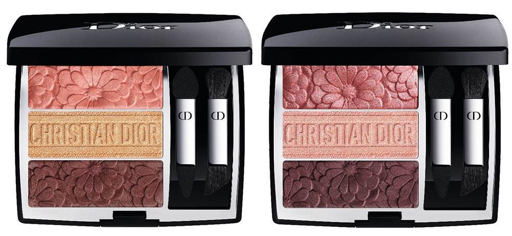 Палетка теней для век Dior Trioblique Eyeshadow Palette Spring 2021