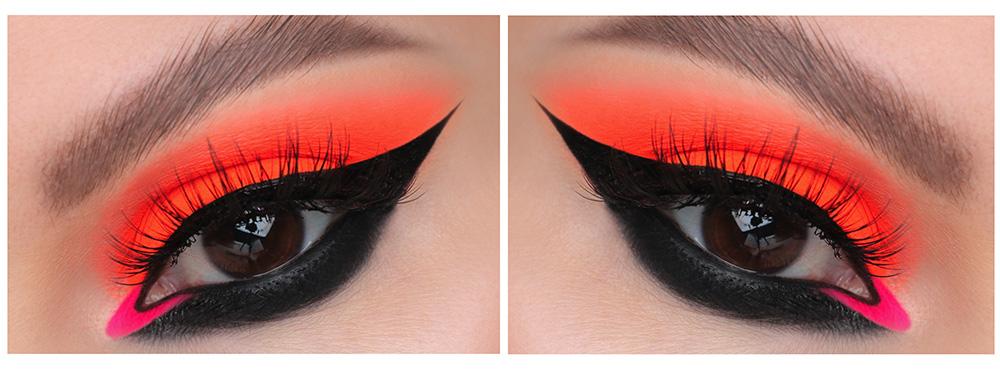 Дерзкий макияж для карих глаз