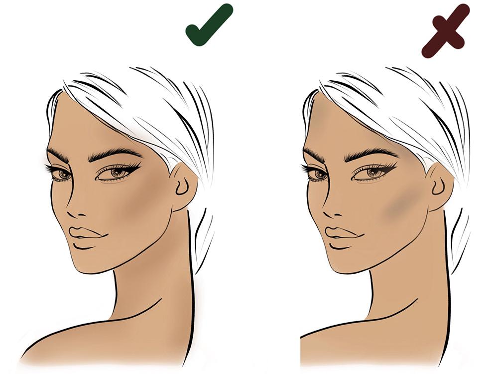 Как выбрать румяна по цвету кожи