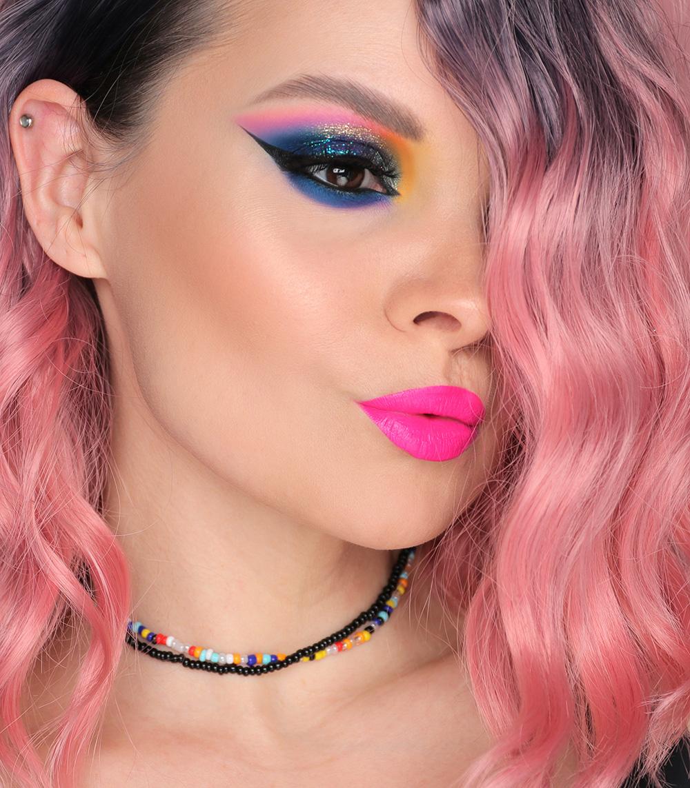 Клубный макияж 2021