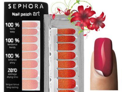 Наклейки на ногти: Sephora Nail Patch Art (отзывы, как клеить, фото)