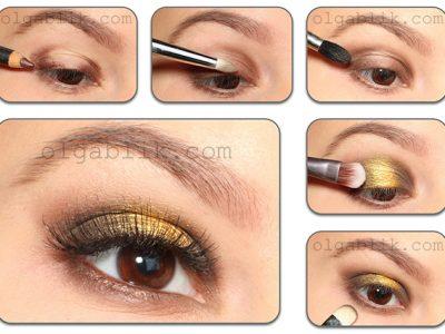 Sleek Makeup Sunset Palette — пошаговый макияж глаз