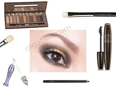Urban Decay Naked Eyeshadow Palette: пошаговый макияж глаз