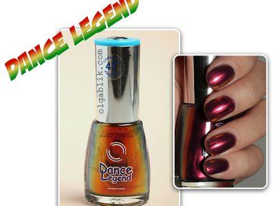 Лак для ногтей Dance Legend #47: голографический мир!