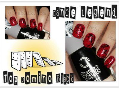 Лак для ногтей Dance Legend – Top Domino Black: отзывы