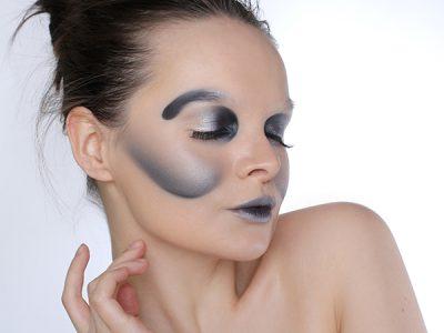 Креативный макияж за 1.200 р