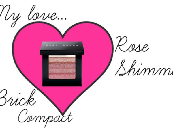Bobbi Brown Rose Shimmer Brick Compact: лучший шиммер!