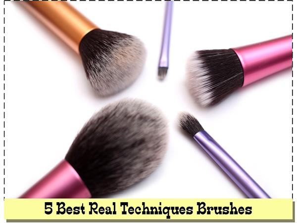 Кисти для макияжа Real Techniques: ТОП-5