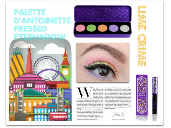 Палетка для век Lime Crime D'Antoinette Palette – отзывы и макияж