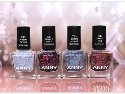 Лак для ногтей ANNY – отзывы на рождественскую коллекцию