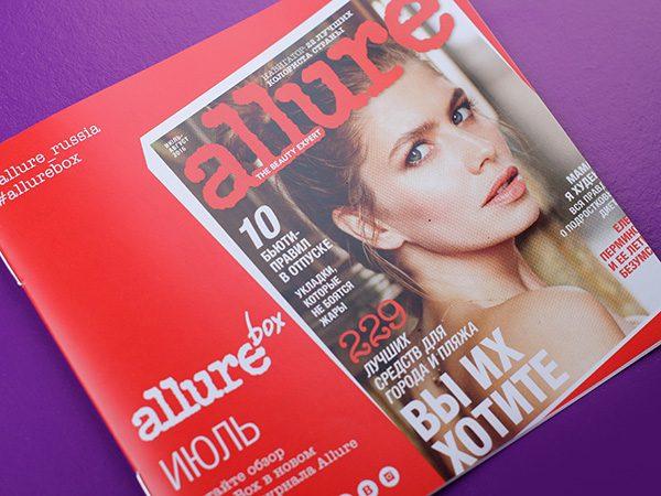 AllureBox Июль: отзывы, фото, состав
