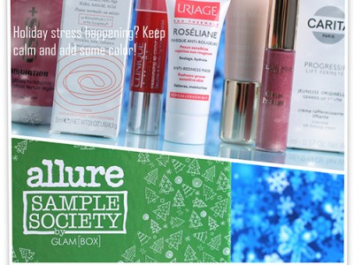 Allure Sample Society by GlamBox #12 Декабрь – отзывы