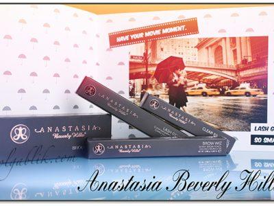 Распаковка посылки Anastasia Beverly Hills: первое впечатление