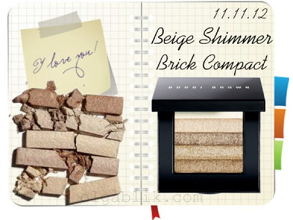 Bobbi Brown Shimmer Brick Compact Beige: отзывы на шиммер