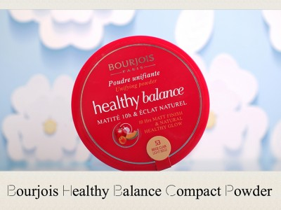Пудра компактная Bourjois Healthy Balance – отзыв