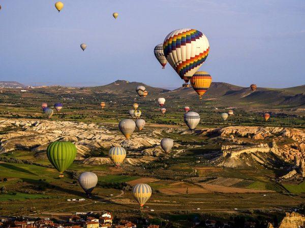 Каппадокия: полет на воздушном шаре! Как это было.