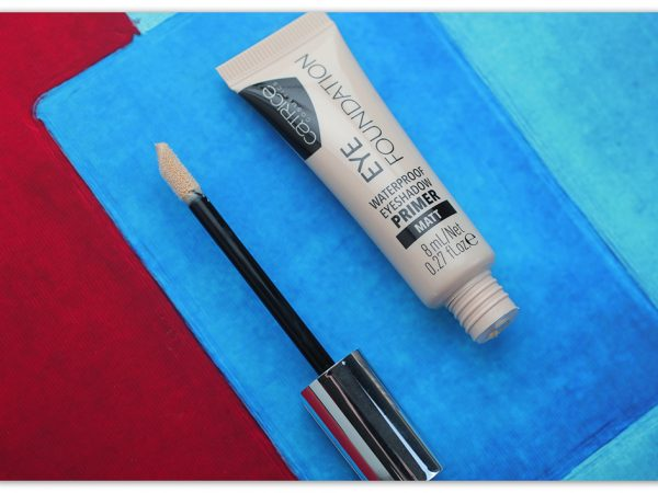 База под тени Catrice Eye Foundation Waterproof Eyeshadow Primer