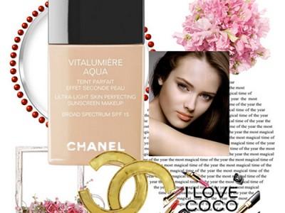 Тональный флюид Chanel Vitalumiere Aqua – отзыв визажиста
