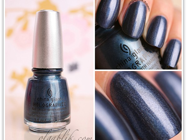 Лак для ногтей China Glaze Hologlam: Strap On Your Moon Boots Nail Lacquer.