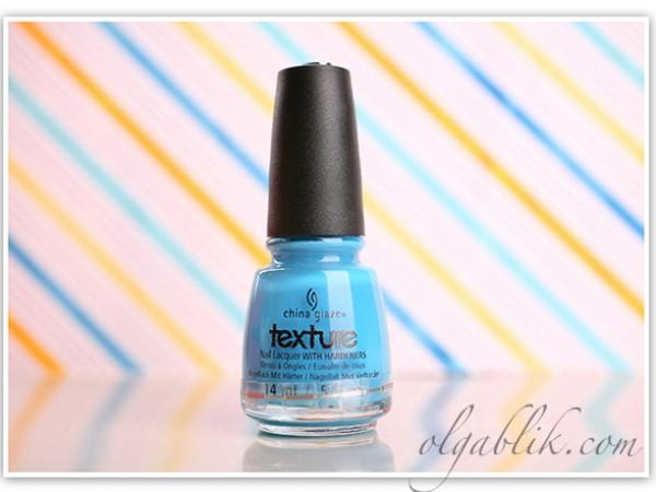 Текстурный лак для ногтей China Glaze Texture: отзывы и фото