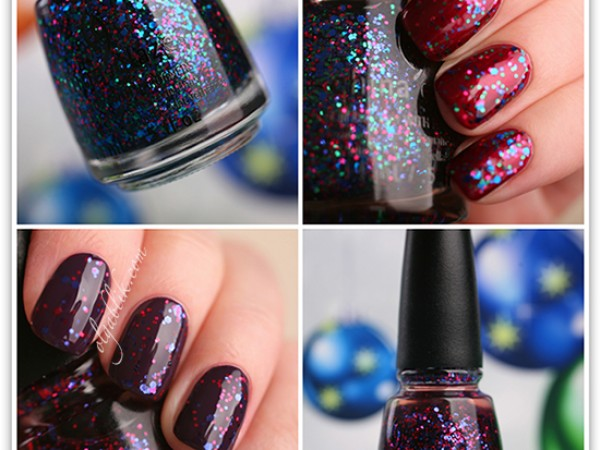 "China Glaze ""Monsters Ball"" & ""Be Merry, Be Bright"""