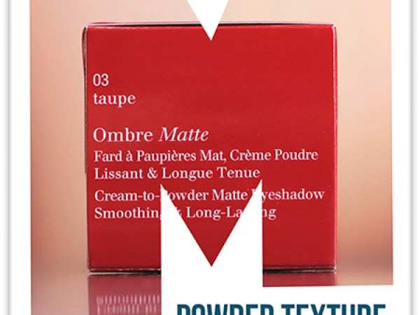 Clarins Ombre Matte Cream-to-Powder Eyeshadow — отзывы на тени