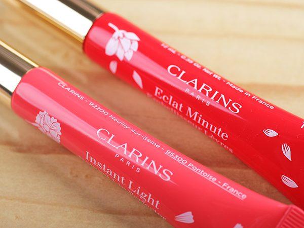 Блеск для губ Clarins Eclat Minute – отзыв, свотчи, фото
