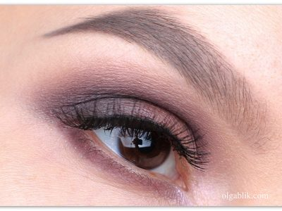 Пошаговый макияж глаз с затемненными уголками