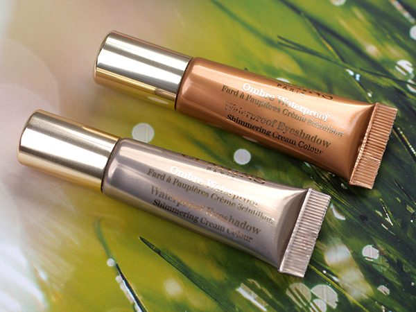 Кремовые тени: Clarins Waterproof Cream Eyeshadow