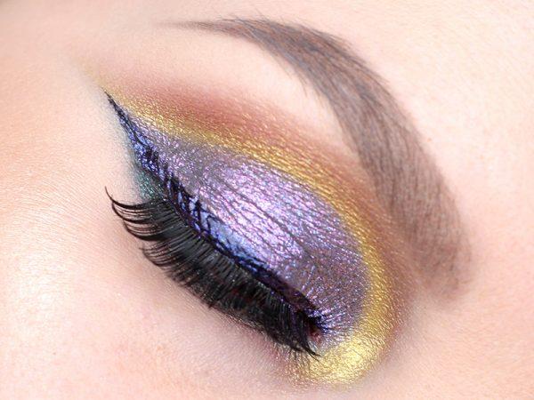 Colour Pop Super Shock Shadow Makeup Look