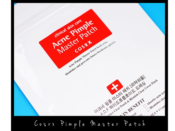 Cosrx: Acne Pimple Master Patch 24 Stickers