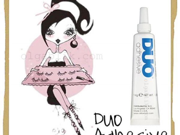 Клей для ресниц DUO Eyelash Adhesive – в главной роли!